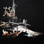 Apeldoorn Mariaverzetspark 70 x 70 cm Acryl