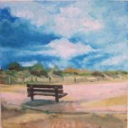 Katwijk aan Zee 15 x 15 cm Oil