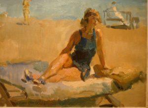 Isaac Israels - schilderen aan zee