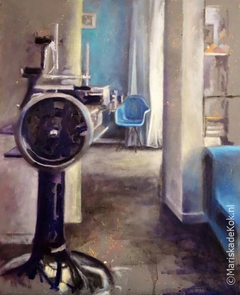 Uit de serie Plekje van de Week voor galerie Maandag te Noordwijk - locatie Vesper - Astridboulevard